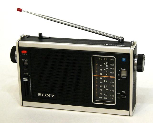 【中古】迅速発送+送料無料+動作保証!! SONY ソニー ICF-5300 The 11 Self 3バンドレシーバー FM/MW/SW ビンテージ ヴィンテージ レトロ アンティーク【@YA管理1-53-10954】