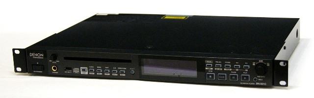 【中古】迅速発送+送料無料+動作保証!! DENON Professional DN-501C ブラック 業務用CD/メディアプレーヤー リモコン欠品【@YA管理1-53-3103500110】