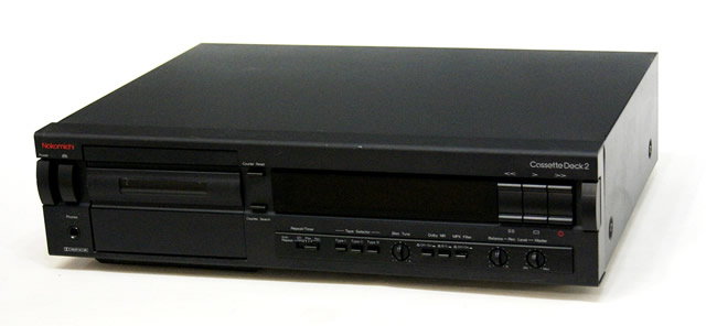 【中古】迅速発送+送料無料+動作保証!!Nakamichi ナカミチ CassetteDeck2 カセットデッキ Dolby NR B,C 海外輸出モデル 120V仕様 ビンテージ ヴィンテージ レトロ アンティーク【@YA管理1-53-26241】