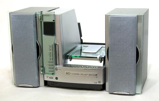 【激安アウトレット】迅速発送+送料無料!!1点のみ早い者勝ち《未使用品》KENWOOD ケンウッド JVC SH-5MD マイクロハイファイコンポーネントシステム(CD/MDコンポ)(本体RD-L7MDとスピーカーLS-L5のセット)【@YA管理1-53-10302748】
