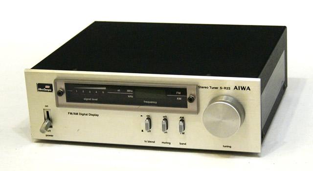 中古 迅速発送+送料無料 動作保証 値引交渉歓迎 AIWA アイワ S-R22 FM レトロ ヴィンテージ アンティーク AMチューナー ビンテージ @YA管理1-53-91226666 付与