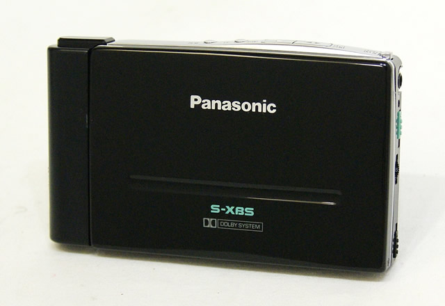 【中古】迅速発送+送料無料+動作保証!! Panasonic パナソニック RQ-S3-K ブラック ステレオカセットプレイヤー ビンテージ ヴィンテージ レトロ アンティーク【@YA管理1-53-9FCNA72961】