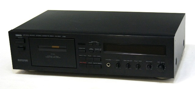 メーカー:YAMAHA 発売日:1990年11月10日 中古 迅速発送+送料無料 動作保証 YAMAHA ヤマハ KX-640 ブラック 当店一番人気 3ヘッドカセットデッキ @YA管理1-53-N043532WY DOLBY B C 高品質 アンティーク ヴィンテージ レトロ ビンテージ NR リモコン欠品