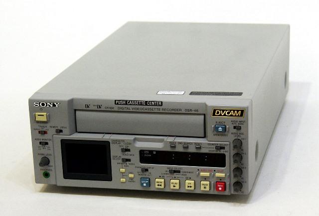 メーカー:SONY 発売日:2002年3月22日 限定Special Price 中古 迅速発送+送料無料 動作保証 SONY DSR-45 @YA管理1-53-14303 ビデオデッキ ソニー 業務用DVCAM 入手困難