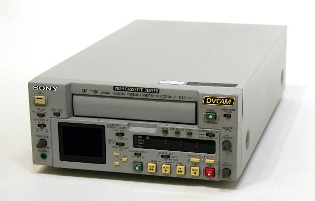 メーカー:SONY 発売日:2002年10月 中古 迅速発送+送料無料 新作販売 動作保証 SONY 店 ビデオデッキ ソニー DSR-25 業務用DVCAM @TA管理1-53-15086