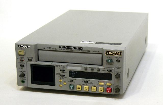 優先配送 メーカー:SONY 発売日:2002年10月 中古 迅速発送+送料無料 動作保証 SONY DSR-25 ソニー 賜物 業務用DVCAM ビデオデッキ @TA管理1-53-14220
