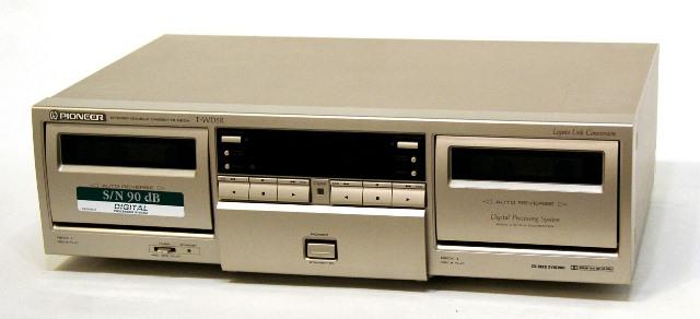 メーカー:Pioneer 発売日:1996年11月 卸直営 中古 迅速発送+送料無料 動作保証 PIONEER パイオニア ご予約品 T-WD5R デジタルプロセッシングシステム搭載 ツイン録再ダブルリバースデッキ ヴィンテージ レトロ B @YA管理1-53-RG1003238 C NR リモコン欠品 アンティーク DOLBY ビンテージ