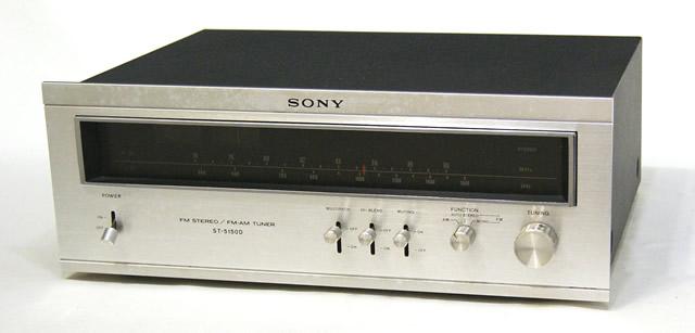 美品 中古 迅速発送+送料無料 動作保証 至高 SONY ソニー ST-5150D FM ビンテージ ヴィンテージ アンティーク AMチューナー レトロ @YA管理1-53-240175