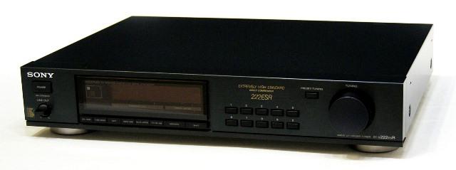 メーカー:SONY 発売日:1989年1月 中古 迅速発送+送料無料 最安値に挑戦 動作保証 SONY ソニー ST-S222ESR ビンテージ 国内送料無料 FM ヴィンテージ @YA管理1-53-208384 アンティーク リモコン欠品 AMステレオチューナー レトロ