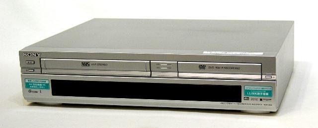 メーカー:SONY 発売日:2003年10月21日 中古 迅速発送+送料無料 当店一番人気 動作保証 SONY ソニー @YA管理1-53-6017331 VHS DVDレコーダー 専用リモコン付 評判 VHSビデオ一体型DVDレコーダー RDR-VD6