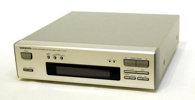 メーカー:ONKYO 発売日:1993年7月10日 中古 迅速発送+送料無料 動作保証 ONKYO オンキヨー オンキョー T-411M S 新商品!新型 FM AMチューナー ビンテージ レトロ ヴィンテージ @YA管理1-53-A-13 日本限定 アンティーク インテック275シリーズ SYNTHESIZED AM TUNER QUARTZ STEREO