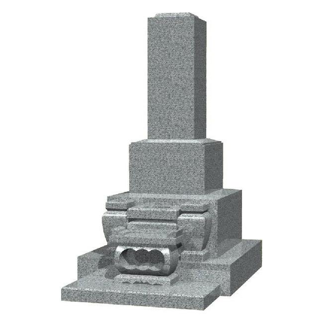 墓石 高級和型のお墓(白御影石)