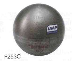 NISHI 砲丸 女子一般・高校用・女子U20規格品 F253C 4.000kg サイズ:φ109mm *IAAF承認品、JAAF日本陸上競技連盟検定品(お取り寄せ商品)