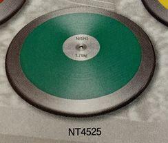 NISHI 円盤 練習用 高校男子・男子U20用 NT4525 1.750kg サイズ:φ210.0mm (お取り寄せ商品)
