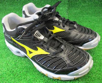 Yellow Mizuno Volleyball Shoes