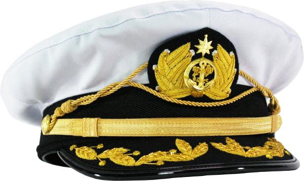 船長帽 キャプテンマリン ゴールドエンブレム メンズ レディース 日本製