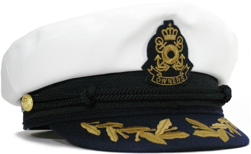 クラウンオーナーズ山吹色ワッペン・キャプテンツートンマリンキャップ CHAPEAU SAOTOME|シャポーサオトメ| 船長帽 帽子 メンズ レディース 大きいサイズ[M(56.5)/L(58)/LL(59.5)]03P01Mar15