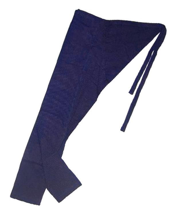 【祭用品】こだわりのオリジナル先染め 藍染刺子股引(ももひき) 男女兼用サイズ