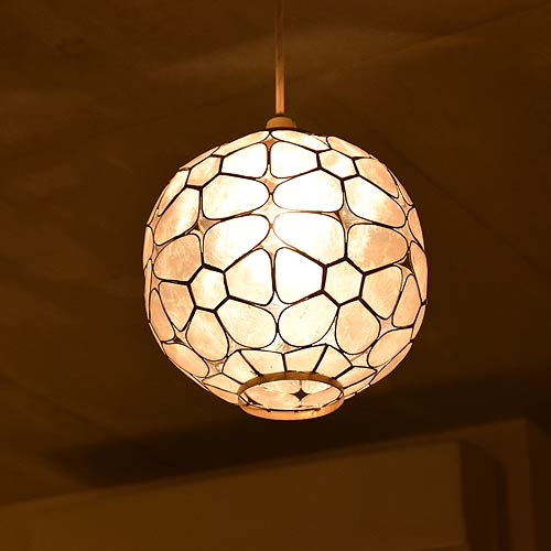 Asian Lighting Indirect Ceiling Light Suspension Horse Mackerel Ann Lamp Ethnic Antique Fashion