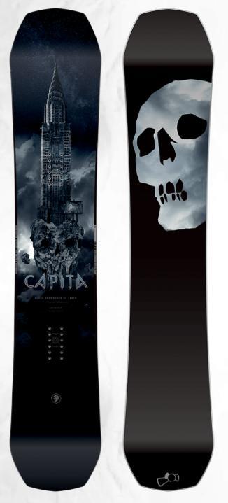 18-19 CAPITA BLACK SNOWBOARD OF DEATH HYBRID CAMBER 最高の乗り心地! キャピタ フラッグシップボード ブラック スノーボード オブ デス 正規品