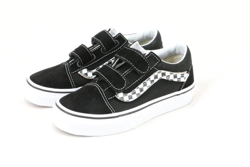 VANS KIDS OLD SCHOOL KIDS child size magic tape Velcro is pretty! I can  tear off side stripe with magic tape! It is recommended for an SIDE STRIPE  vans ... a0438d0ee