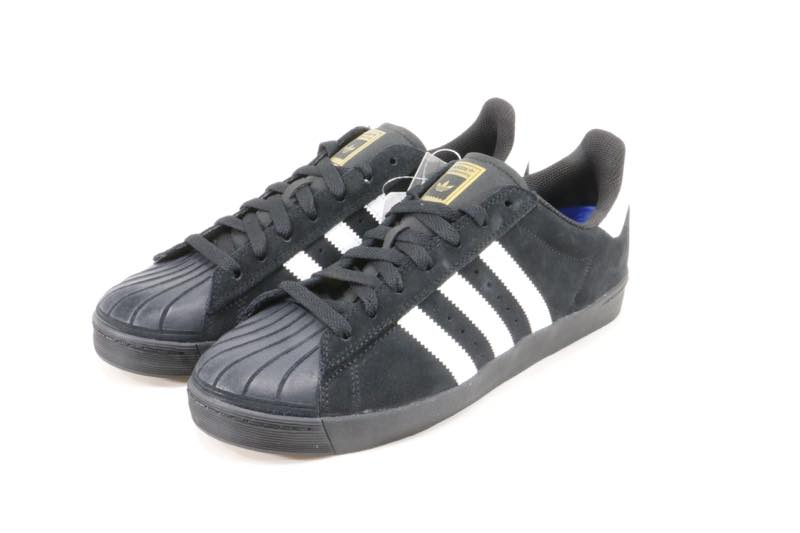 It is ADIDAS skateboarding SUPERSTAR model. A color is black! It is the  good shoes that I wear it c2bd45314