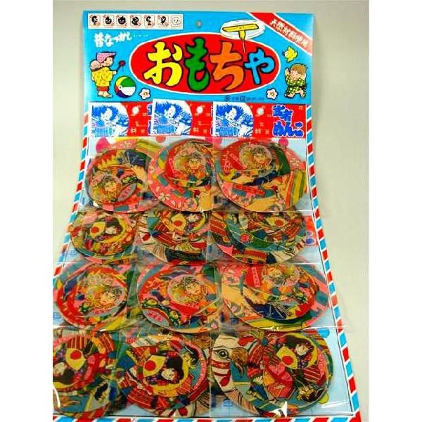 驚きの値段で 台紙玩具 和玩具 武者めんこ あす楽対応 6枚セット×12付 直営ストア