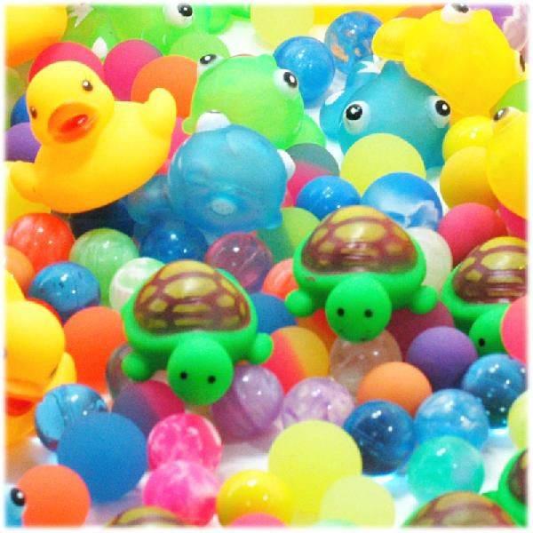縁日すくい うきうき池の生き物 スーパーボール300個セット縁日すくいあす楽対応kPXZiuO