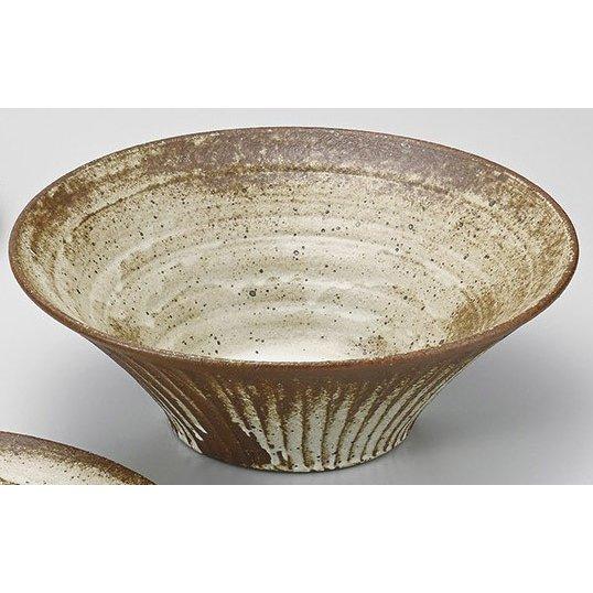 陶彩 ナチュラルテイスト 釉 ベージュ 和鉢 完売 蔵 信楽焼 2個組