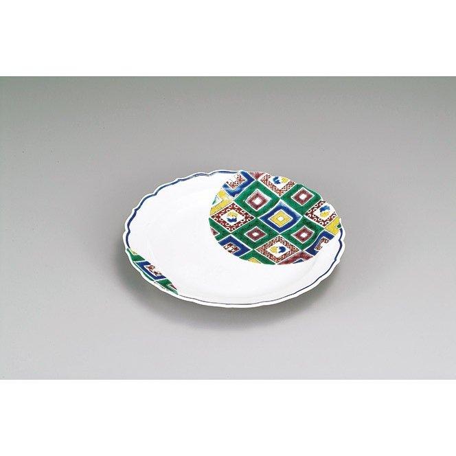 限定特価 石畳の図 盛皿 九谷焼 定番から日本未入荷