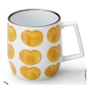 マグカップ FRUIT(オレンジ) 5個組 /  波佐見焼
