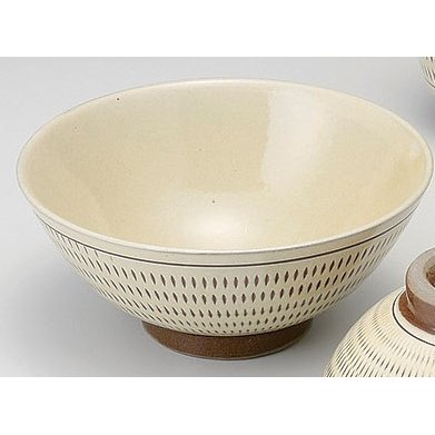 飛びカンナ 飯碗(大) 5個組 /  小石原焼