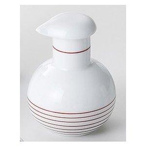 ボーダーライン スキット汁次(赤)小 5個組 /  波佐見焼