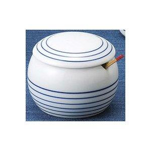 ボーダーライン 薬味入(青) 5個組 /  波佐見焼