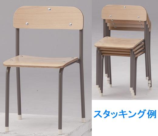 TOKIO【藤沢工業】 キッズチェア YC-04-4 4脚入り