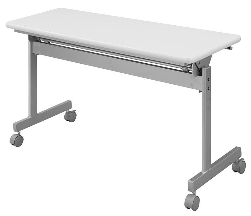 HITECHWOOD【ハイテクウッド】 会議用テーブル(跳ね上げ式) 幕板なし ITO-KS1245NW W1200xD450xH700