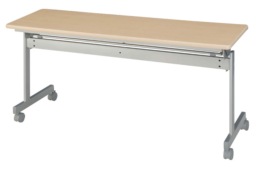 HITECHWOOD【ハイテクウッド】 会議用テーブル(跳ね上げ式) 幕板なし ITO-KS1260NN W1200xD600xH700