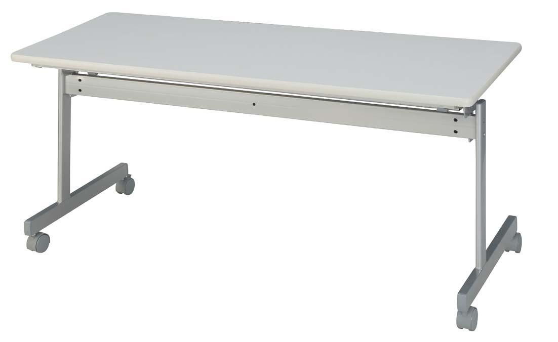 HITECHWOOD【ハイテクウッド】 会議用テーブル(跳ね上げ式) 幕板なし ITO-KS1560NW W1500xD600xH700