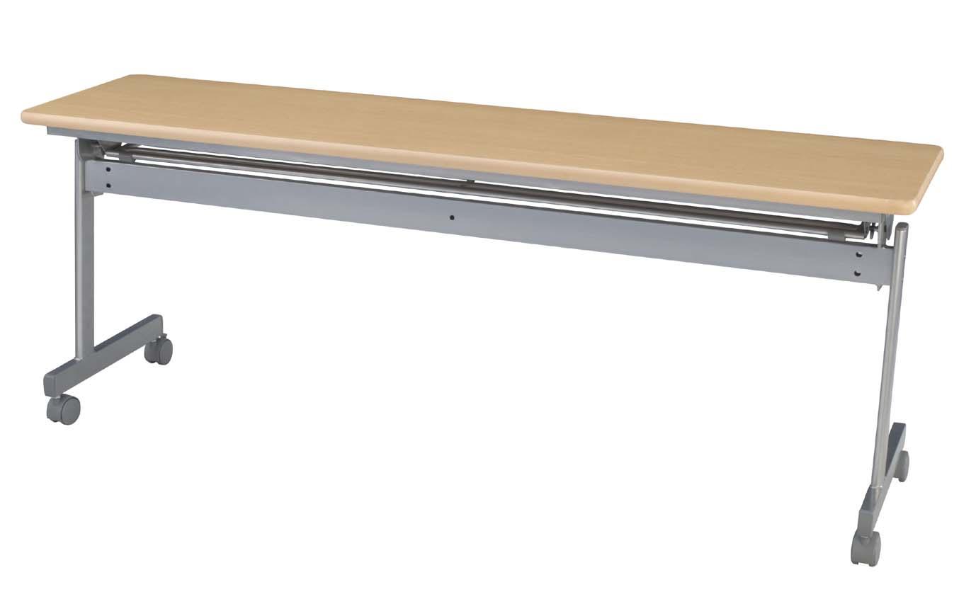 HITECHWOOD【ハイテクウッド】 会議用テーブル(跳ね上げ式) 幕板なし ITO-KS1845NN W1800xD450xH700