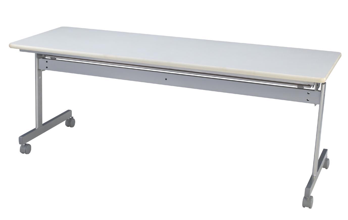 HITECHWOOD【ハイテクウッド】 会議用テーブル(跳ね上げ式) 幕板なし ITO-KS1860NW W1800xD600xH700