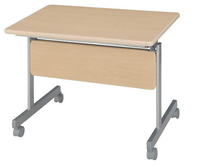 HITECHWOOD【ハイテクウッド】 会議用テーブル(跳ね上げ式) 幕板付き ITO-KSM9060NN W900xD600xH700