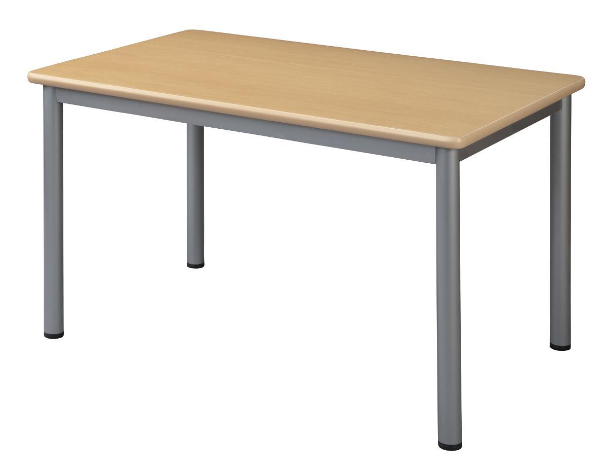 HITECHWOOD【ハイテクウッド】 ミーティングテーブル TL1275-NN ナチュラル W1200xD750xH700mm