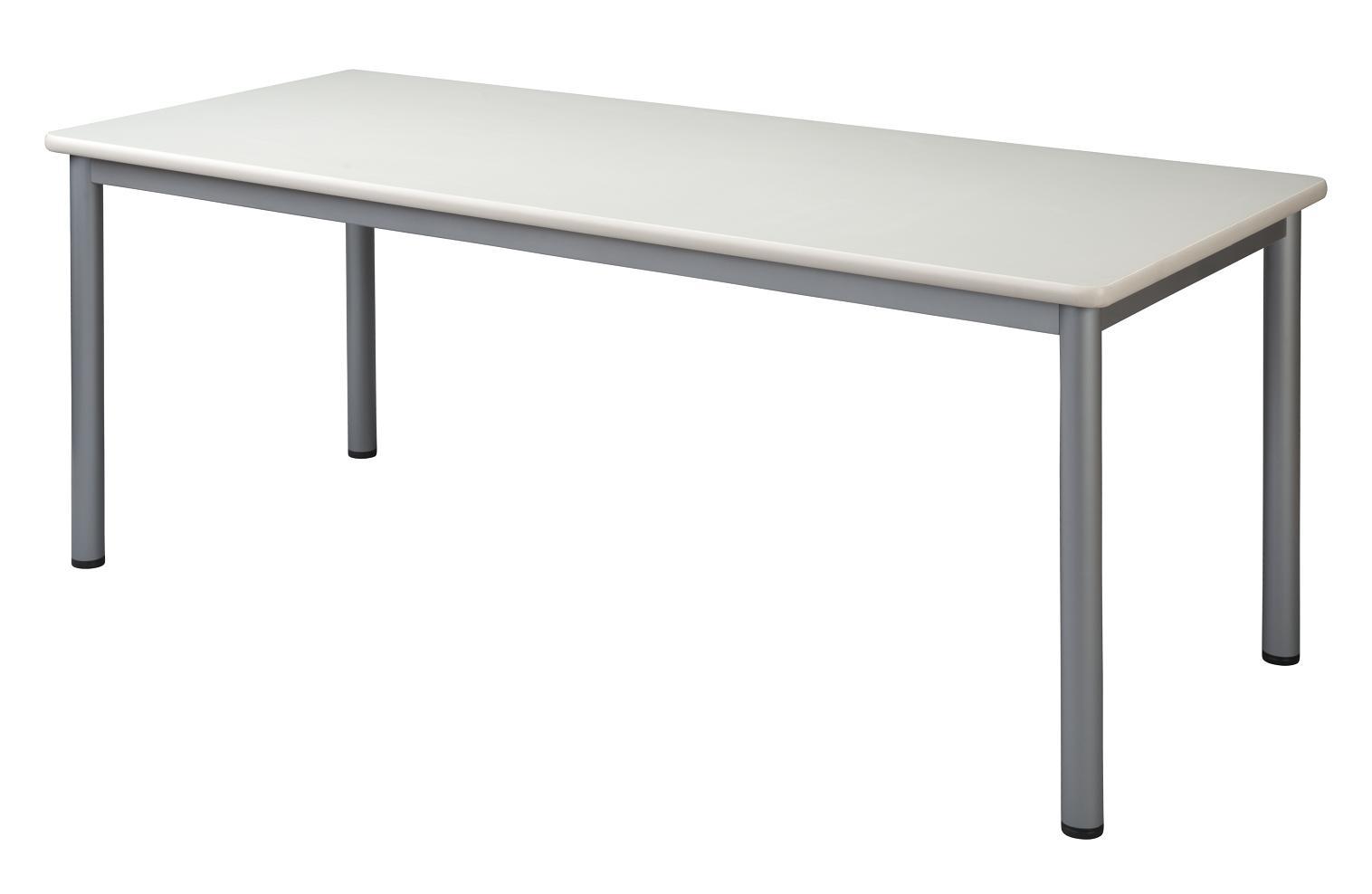 HITECHWOOD【ハイテクウッド】 ミーティングテーブル TL1890-NW ホワイト W1800xD900xH700mm