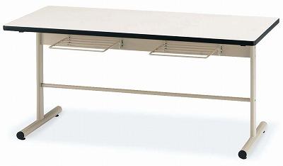TOKIO【藤沢工業】 ダイニングテーブル(天板エラストマエッジ・椅子掛け付き) DT-TW1575 W1500xD750xH700mm