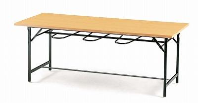 TOKIO【藤沢工業】 ダイニングテーブル(天板 共貼り・椅子掛け付き) DY-1875 W1800xD750xH700mm