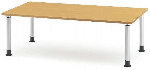 TOKIO【藤沢工業】 介護・福祉用昇降テーブル(アジャスタータイプ) MKT-1875 W1800xD750xH600~800mm