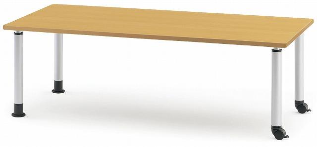 TOKIO【藤沢工業】 介護・福祉用昇降テーブル(キャスタータイプ) MKT-1875C W1800xD750xH600~800mm