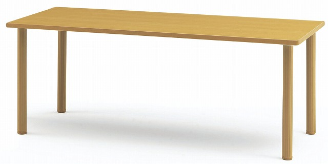 TOKIO【藤沢工業】 介護・福祉用昇降テーブル(樹脂カバー脚タイプ) MOT-1875 W1800xD750xH700~750mm