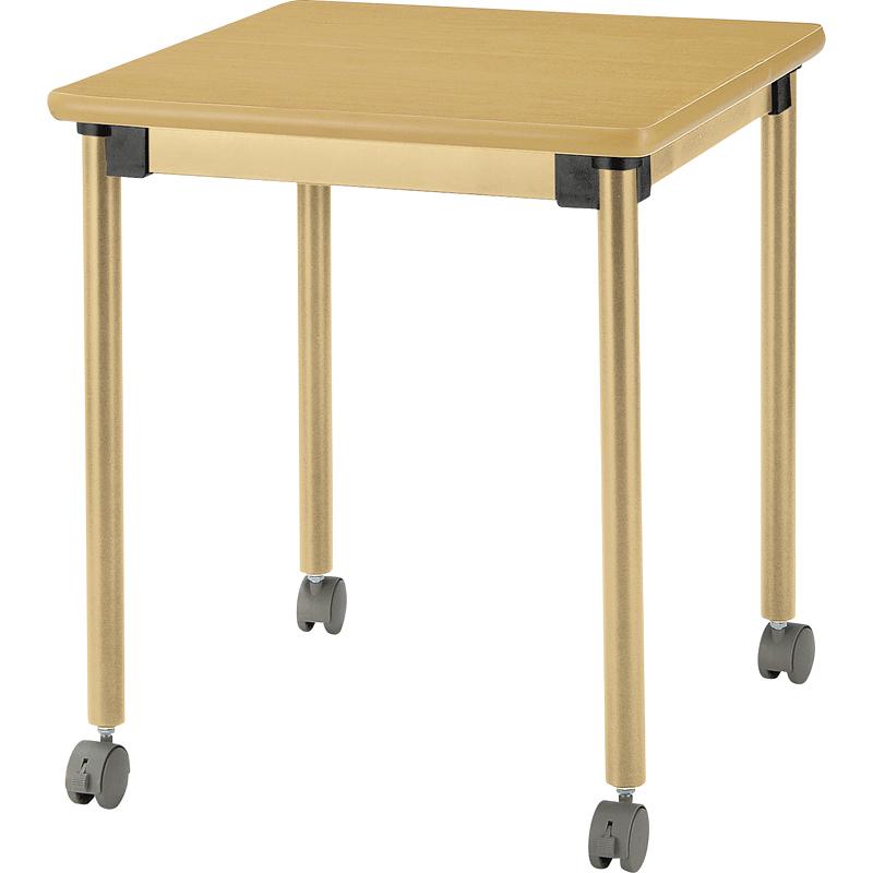 HITECHWOOD【ハイテクウッド】 介護・福祉用テーブル UFT-ST6060C W600xD600xH700mm