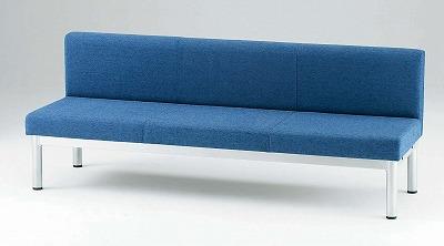 TOKIO【藤沢工業】 ロビーチェア(待合室用長椅子)布張りタイプ LS-3 W1800xD600xH700